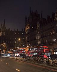 Euston Road, London, England, UK (Plan R) Tags: night dark bus pancras station hotel street road euston london uk leica m 240 summilux 35mm
