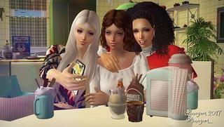 Rikku, Aya y Lulu