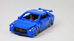 Nissan GTR (Si-MOCs) Tags: nissangtr gtr legogtr legonissan
