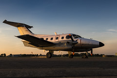 Embraer EMB 121AA Xingu - 16 (NickJ 1972) Tags: raf northolt photoshoot photocall photo shoot evening sunset aviation 2017 xxii 22 embraer emb 121 xingu 105 yu