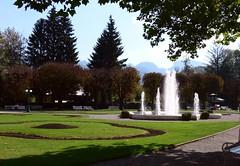 Bad Ischl Kurpark P1090044 (martinfritzlar) Tags: badischl kurpark salzkammergut oberösterreich österreich alpen park brunnen upperaustria austria alps spatown fountain