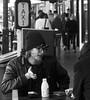 (Andrew G Thomas) Tags: melbourne man street hip cool black white bw guy