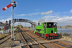 Bo'ness Railway Preservation,October 2014 (murraymcbey) Tags: railway steamengine bonessrailwaypreservation scotland no6 ncb