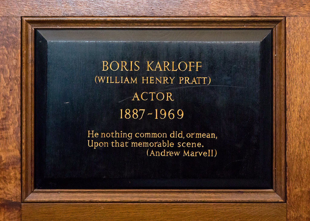 Boris Karloff Grave