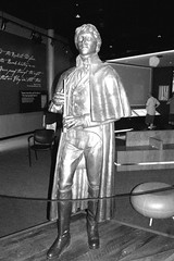 Francis Scott Key Statue at Fort McHenry (K. Horn) Tags: baltimore md fortmchenry statue flag war 1814 warof1812 british bombardment indoor