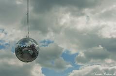 DiscoSky (LaKry*) Tags: berlin berlino mirrorball sky cielo himmel disco club haubentaucher friedrichshain wolken clouds nuvole spiegelball