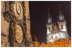 Republica checa (alvaromoneo) Tags: praga republica checa clock astronomy astronomico