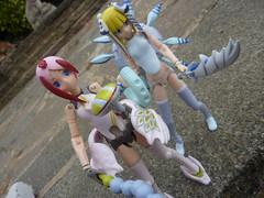 Plant Girls (.Poisoned♥Death.) Tags: busou shinki busoushinki figure konami seed flower juvisy zyrdarya yuki trixie mms