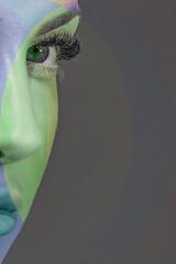 (giuseppe radaelli) Tags: photo ritratto portrait modella model geometrie geometrical colore