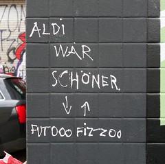 - (txmx 2) Tags: hamburg graffiti scrawl futo fizzo sde aldi stpauli