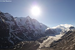 DSC01278 (Olaf Biedron) Tags: alpen grosglockner grossglockner sonne sonnenstrahlen sun gletscher glacier ледник pasterze