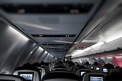 United Flight to Canada (Jovan Jimenez) Tags: canon eos m3 efm air plane 22mm f2 stm united flight canada interior transportation flying