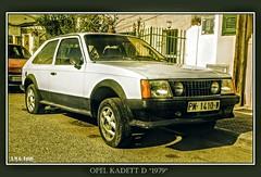 # Opel Kadett D ( 1979 )... (A.M.G.1969) Tags: amg amg1969 aplicacióndelacámara opel kadett car coches 4ruedas