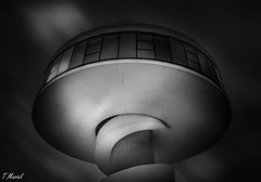UFO (tmuriel67) Tags: architecture artwork monochrome blackwhite blancoynegro shadows lightshadows niemeyer nikon asturias aviles arquitectura abstract minimalism minimalismo black