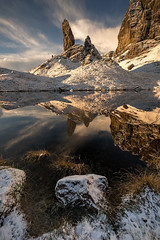 The Old man (chrismarr82) Tags: skye storr isle old man nikon d750 tamron reflection snow morning sunrise