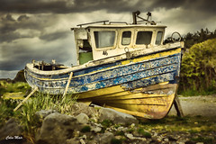 In for repair - (Helios 44-2) - 2017-04-29th (colin.mair) Tags: 442 sony ilce6000 dunure old boat 58mm helios lens m42 manual russian ussr