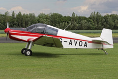 G-AVOA (QSY on-route) Tags: gavoa lincoln aero club mid summer fly in sturgate 04062017