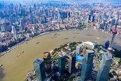 Shanghai (jernejb) Tags: waitan lujiazui huangpu city skyscraper skyline observationdeck shanghaitower pudong shanghai china d5200