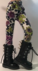 Through The Grapevine...Tights For Blythe...OOAK...