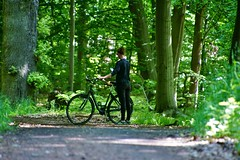 Lost in the woods (os♥to) Tags: sony alpha77ii a77ii ilca77m2 june2017 bike bicycle cykel fahrrad bici vélo velo bicicleta fietssykkel rower street candid streetphotography people