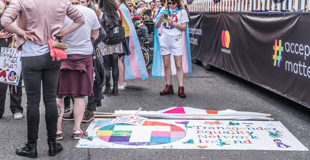 LGBTQ+ PRIDE PARADE 2017 [STEPHENS GREEN BEFORE THE ACTUAL PARADE]-129778