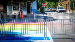 2017.06.10 Painting of #DCRainbowCrosswalks Washington, DC USA 6388