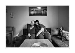 Love and happiness (Jan Dobrovsky) Tags: 21mm biogon leicam people reallife grain indoor contrast leica love care mentallyhandicapped portrait northernbohemia monochom human monochrome document