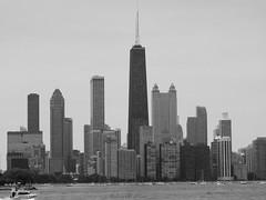 Chicago (NaturewithMar) Tags: chicago illinois hancock tower skyline buildings blackandwhite 7dwf cityscape monochrome city skyscraper