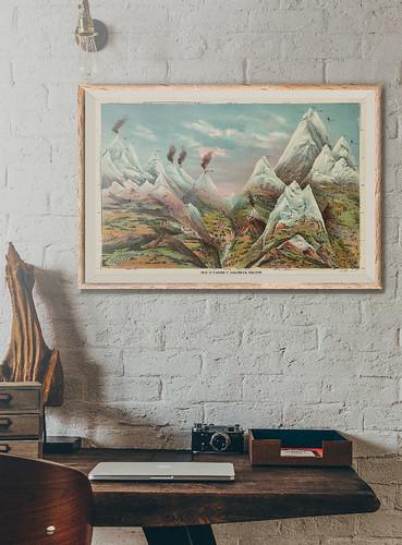 11-Affiche // 50x70cm // Ascending Regions