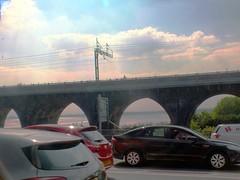 DSCF0663E Rail Viaduct, Runcorn (Anand Leo) Tags: silverjubileebridge runcorn widnes rivermersey