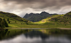 Moody Skies Over Blea Tarn & Langdale Pikes, Lake District (MelvinNicholsonPhotography) Tags: bleatarn lakedistrict cumbria langdalepikes tarn water fells moody skies longexposure lakeland melvinnicholsonphotography melvinnicholson