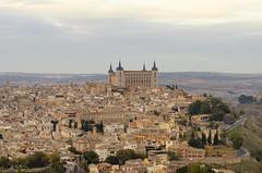 Castilla La Mancha - Toledo (rschnaible) Tags: toledo spain espana europe cityscape landscape view history historic building architecture castilla la mancha castle fort fortress