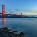 Morning Blue Hour - Golden Gate Bridge