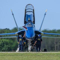 Blue Angel (PMillera4) Tags: blueangel blueangels usnavy fa18hornet navy airshow airplane