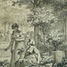 MONNET Charles - La Promenade (drawing, dessin, disegno-Louvre RF34443) - Detail 31