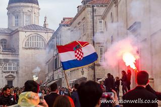 Croatian wedding celebration