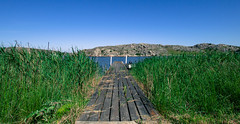 Runway (juliolunap) Tags: outdoors archipielago nature goteborg gothemburg sweden sverige bluesky blue water islands island aspero