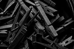 clothespins - desaturated (pepperberryfarm) Tags: smca100mmf4macro vaderpreset macphuntonality clothespins