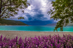 Summer with signs of Winter and Spring (Vagelis Pikoulas) Tags: summer clouds cloudy cloud canon 6d tokina view colour colours color porto germeno greece beach sea seascape europe landscape june 2017