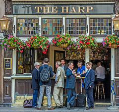 The Harp Pub - Charing Cross (London) (Olympus OM-D EM1-II & M.Zuiko 12-100mm f4 Pro Zoom) (1 of 1) (markdbaynham) Tags: pub drink pint people candid central london londoner londonist westminster uk gb street ale urban metropolis oly olympus omd em1 em1ii em1mk2 csc mirrorless evil m43 mft mzd zd mz mzuiko zuikolic 12100mm f4 pro travelzoom m43rd micro43 micro43rd