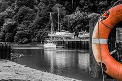 River Dart at Totnes (_John Hikins) Tags: reflection river dart torbay totnes boats boat d5500 devon nikon nikkor 50mm 50mm18 bw blackwhite blackandwhite black colour color