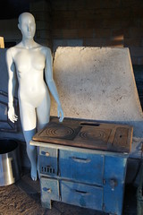 Dinner darling? (notFlunky) Tags: dordogne france lot aquitaine holiday south west la vezier sarlat montignac mannequin stove cooker