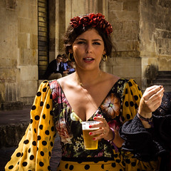 Feria de Cordoba (spain) 2017 (sespir) Tags: feria cordoba spain fiesta flamenco caballos party ladies tradicion tradition sol sunny colour color goidte gente people