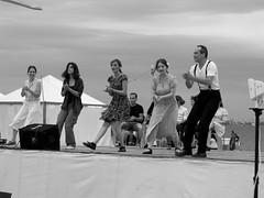 swing dance (Nikos Karatolos) Tags: thessaloniki greece samyang 50mm f12 swing dance retro art seafront