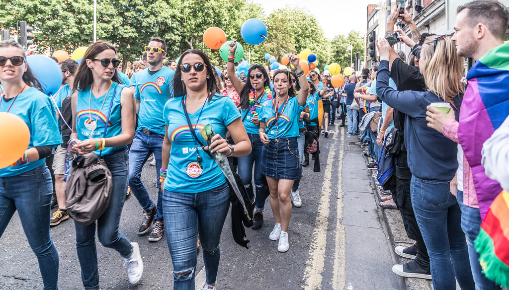 LGBTQ+ PRIDE PARADE 2017 [ON THE WAY FROM STEPHENS GREEN TO SMITHFIELD]-130005