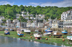 The Looe River and West Looe (Baz Richardson (trying to catch up!)) Tags: cornwall looe westlooe looeriver yachts smallboats rivers