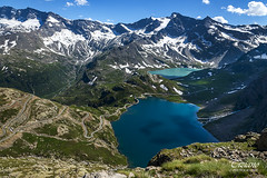 Agnel and Serrù lakes (Tiziano Photography) Tags: ceresolereale lakeagnel lakeserrù mountains lake water snow nikond750 d750 nikon landscape montagne neve laghi