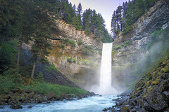 Brandywine Falls (Romain Collet) Tags: nikon canada bc west coast water landscape nature perspective vancouver british columbia explore travel world planet amazing beautiful waterfall falls whistler brandywine sea sky