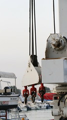 hooks (marwan abdulwahab) Tags: hooks sea water jeddah red boats boat
