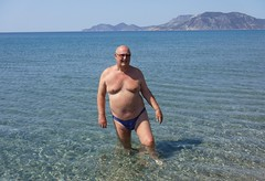 Exotic Beach, Kos (pj's memories) Tags: greece kos magicbeach exoticbeach kiniki tanthru trunks briefs beach